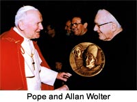 Pope and Allan Wolter